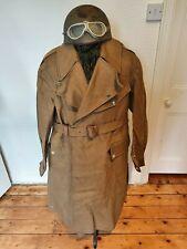 WW2 British Army Dispatch Riders Coat 1945 Motorcyclist unissued