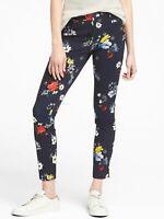 Banana Republic $98 Women Sloan Skinny-Fit Floral Pant Size 00P,0P,2P,4P,6P,8P