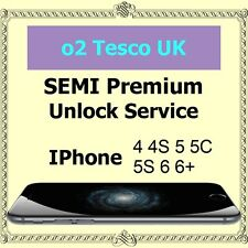 O2 Tesco UK SEMI PREMIUM Factory Unlock Service iPhone 4s 5 5c 5s 6 6+