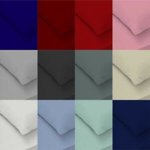 Extra Deep Fitted Sheet 100% EGYPTIAN Cotton 400 Thread Count SINGLE DOUBLE KING