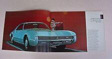 1967 Oldsmobile Brochure -Near Mint