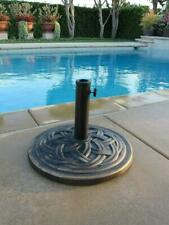 DC America UBP18181-BR 18in. Cast Stone Umbrella Base - Bronze