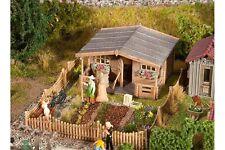 Faller 180493 HO 1/87 Jardin d'ouvrier avec grande maison de jardin