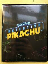 Pokemon Detective Pikachu Collectors Album Portfolio A5 Size 4 Pocket Pages
