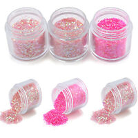 Mix Color Nail Art Glitter Powder Dust For UV GEL Acrylic Decoration Tips