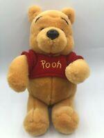 Small Walt Disney Store Winnie The Pooh Bear Plush Kids Soft Stuffed Toy Animal