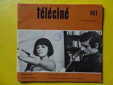 Téléciné n° 141 1968 Macha Méril Claude Santelli Georges Franju J.-P. Enard