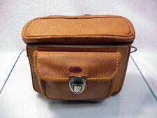 "Vintage Leather Camera Bag | Rangefinder Camera Size ID 5 7/8 x 2 1/2 x 4"" |$20"