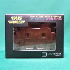 Space Invaders Mini Vinyl Alien Figure Orange/White Loot Gaming Crate Exclusive