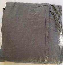 Restoration Hardware Flat King Linen Sheet Green
