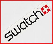 SWATCH Swiss Watch Uhren - Original Aufkleber Sticker / weiß