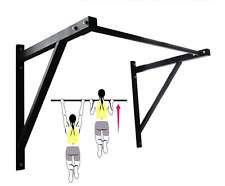 Gym Wall Mounted Heavy Duty Chin Pull Up Bar Workout Training Fitness Home Mount