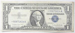 ERROR Replacement *Star* 1957-A $1 Silver Certificate Note - Tough *667