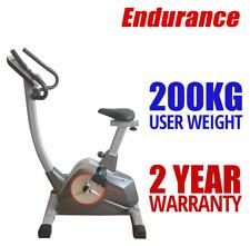 FREE POST Endurance Exercise Bike + INBUILT PROGRAMS Upright Bike + IPAD Holder