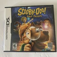 Scooby-Doo First Frights (Nintendo DS, 2009) Complete w/ Manual Tested Working