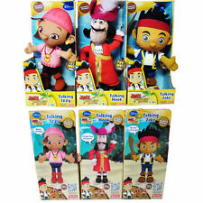 1PC Talking Disney Jake and The Neverland Pirates Plush Doll Kid Interactive Toy