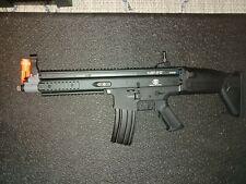 New listing FN Herstal Licensed Full Metal SCAR-L Airsoft AEG Rifle by Cybergun (Black)