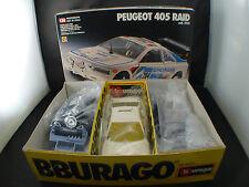 Burago Kit n° 5131 Peugeot 405 Raid maquette neuf en boite 1/24 MIB