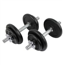 NEW CONFIDENCE FITNESS PRO 20kg DUMBBELLS WEIGHTS SET