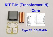 KIT RF Transformer ferrite 73 Amplifier SD2933 VRF2933 MRF150 BLF188 BLF578