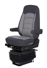 NEW Bostrom WR+SERTA Air Ride Seat, High Profile, High Back, Ultra Leather