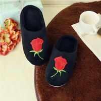 LADIES WOMENS FURRY SOFT MULE SLIPPERS SIZE 3-10 UK NON SLIP WARM COMFORT SHOES