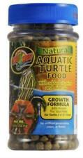 Zoo Med Natural Pet Reptile Aquatic Turtle Food Growth Formula Zm-50B New