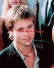 Brad Pitt autographed Signed 8x10 photo RP