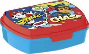 Paw Patrol LUNCH BOX scatola colazione porta PRANZO MERENDA sandwich scuola