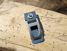 Handmade Stainless Steel Hinged Bullet Money Clip. With or Without Crystals A820