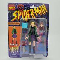Spider-Man Retro Marvel Legends Comics GWEN STACY Hasbro 6-Inch Action Figure