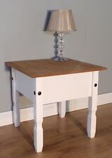 Mercers Furniture CORONA Lamp Table White