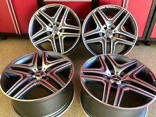 MERCEDES 20 IN GL63 GUNMETAL EDT NEW RIMS WHEELS EXCLUSIVE GL450 FITMENT AMG
