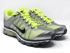 Nike Air Max 2009 Shoes Neutral Grey/Volt Men's New 486978-017 Size 8.5