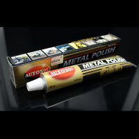 Autosol Solvol Chrome Polish/Cleaner Aluminium & Metal Paste 75ml Tube Car/ Bike