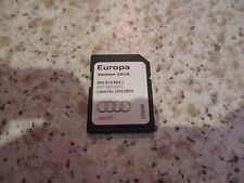 Audi Sat Nav Navigation SD CARD 2016 Navigation A1 A3 Europe RMC 8X0 919 884 J