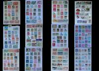 Stamp Collection From Belgium, Belgium Congo & United States, Free Shipping