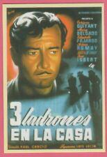 Spanish Pocket Calendar #298 3 Ladrones En La Casa Film Poster Enrique Guitart