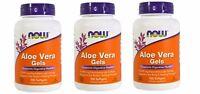 Now Foods - Aloe Vera Gels, 100 Softgels - 3 Packs