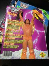 WWF WWE Magazine JUNE 1990 - ULTIMATE WARRIOR WRESTLEMANIA 6