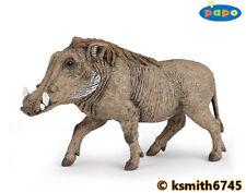 Papo WARTHOG solid plastic toy wild zoo animal * NEW *💥