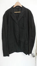 Armani Exchange A|X 3 button charcoal light w linen unstructured blazer XL 44R