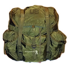 Alice Large LC-1 Back Pack US Army OD GREEN COMPLETE w/ FRAME & STRAPS gd