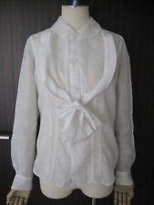 AD2004 Comme des Garcons white Blouse
