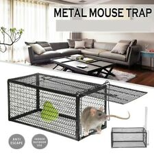 Household Trap Catcher Mouse Rat Bait Mice Live Box Mice Trap Cage Iron Cage UK