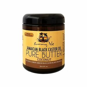 Sunny Isle Jamaican Black Castor Oil Pure Butter Coconut 8 Oz