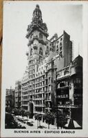 Buenos Aires, Argentina 1925 Realphoto Postcard: Edificio Barolo/Singer Building