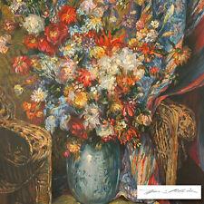 Henri Plisson Floral Symphony Serigraph on Canvas w/coa 18/95