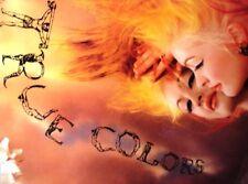 Cyndi Lauper/ True Colors/ Rare Lithograph Art Poster