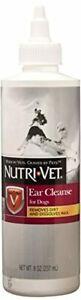 Nutri-Vet Ear Cleanse for Dogs | Cleans & Deodorizes | 8 Ounces